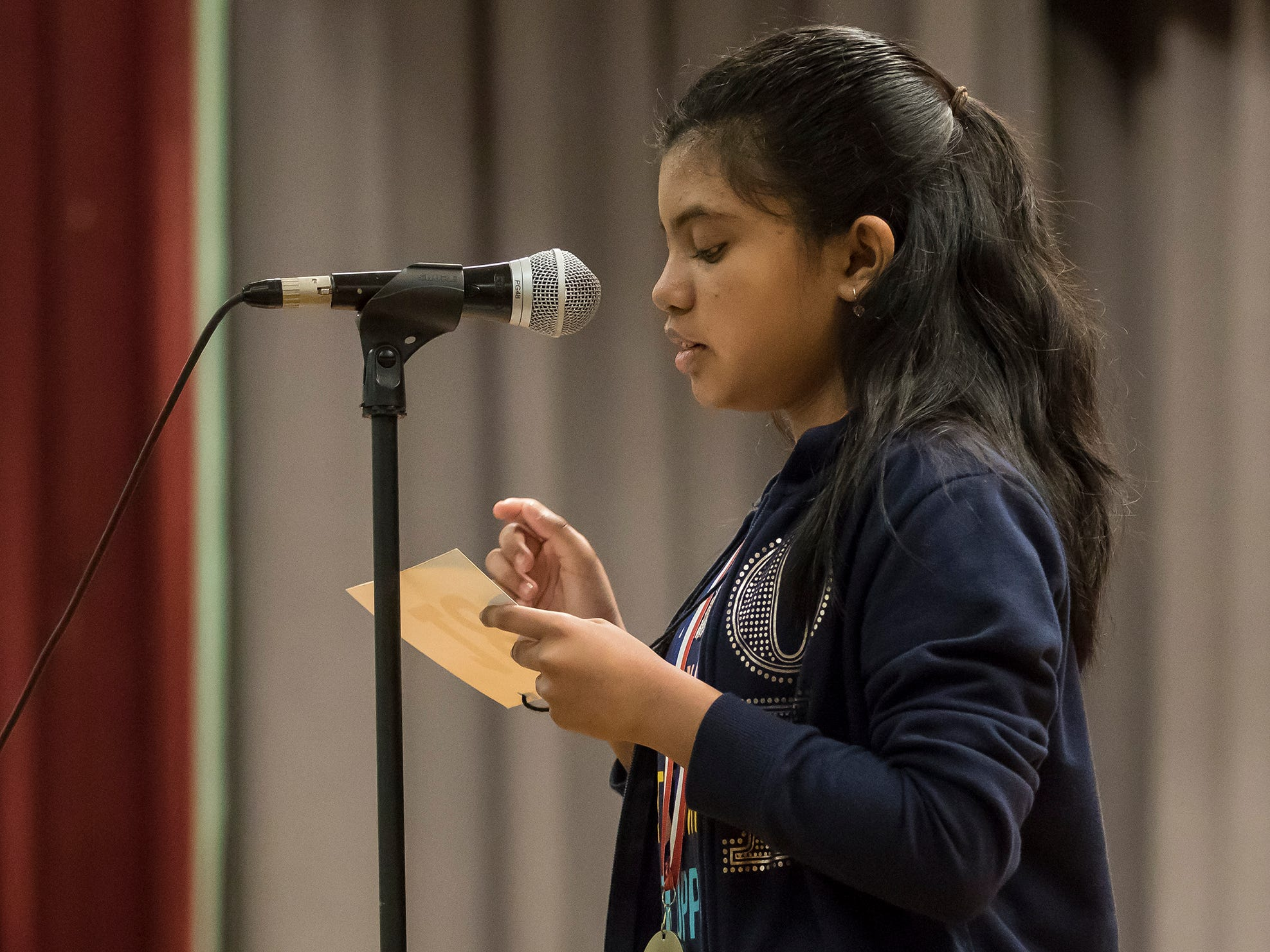 The 2019 All-Parish Spelling Bee was held at Ouachita Junior High in Monroe, La. on March 1. Bre'Ann Washington won the bee and will go on to compete at nationals in Maryland on May 26.
