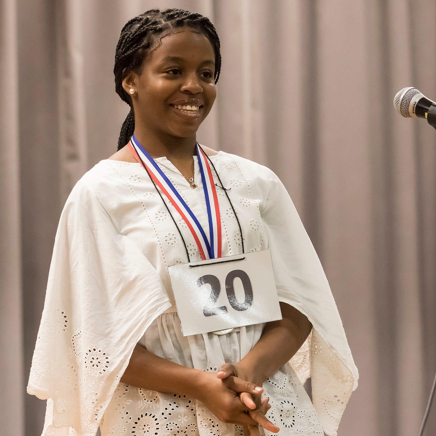 Bre'Ann Washington wins All-Parish Spelling Bee