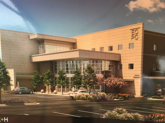 A rendering of what the River Region Medical Center will look like.