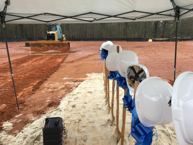 The groundbreaking for River Region Medical Center was held in March. The center will be home to 15 physicians and specialists.