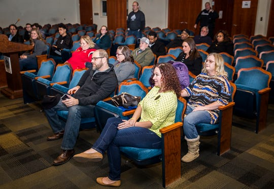 About twenty students graduated from the first, revived six-week Citizen Police Academy. The academy is part of the Muncie Police Department's outreach effort and was designed to show citizens what it's like to work as a police officer.