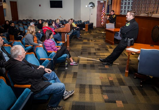 More than 20 students graduated from the recently revived six-week Muncie Citizen Police Academy program. The academy is part of the city police department's outreach effort and was designed to show citizens what it's like to work as a police officer.