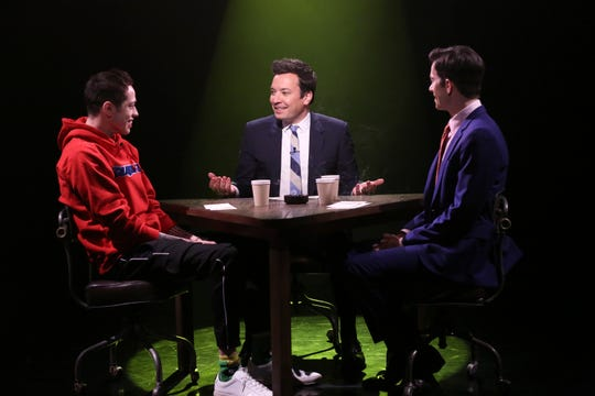 Jimmy Fallon shared his Nashville story with Pete Davidson and John Mulaney on 'The Tonight Show'