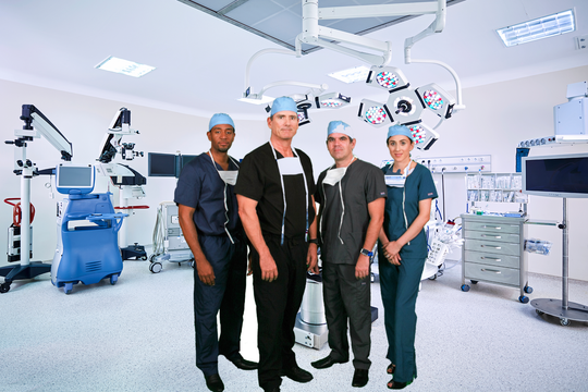 St. John's Surgery Center has highly modern technology including computer- and laser-assisted cataract surgery.