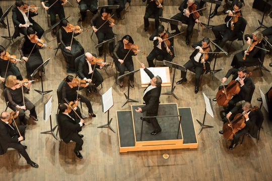 Chicago Symphony Orchestra 2019 Florida tour  Maestro Riccardo Muti conducts the Chicago Symphony Orchestra as they perform a Beethoven Concert at Artis-Naples Frances Pew Hayes Hall in Naples, Florida.
