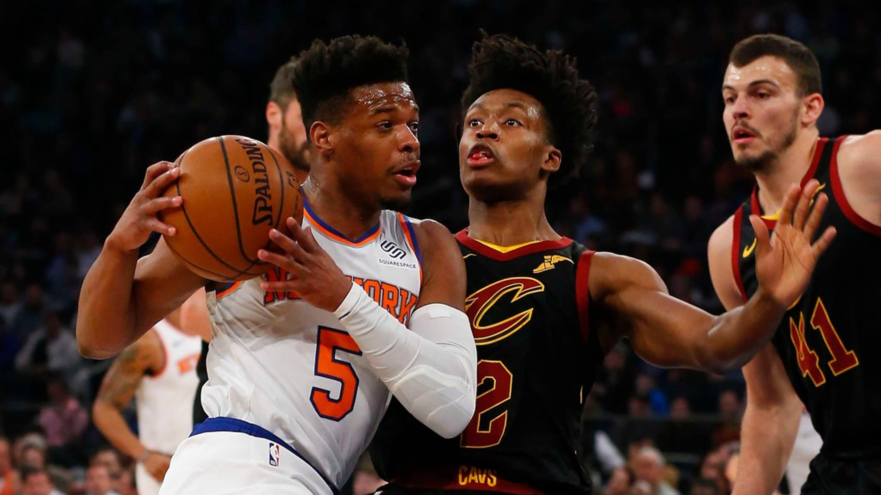f15df1ff1 New York Knicks  Dennis Smith Jr. trying to return before season ends