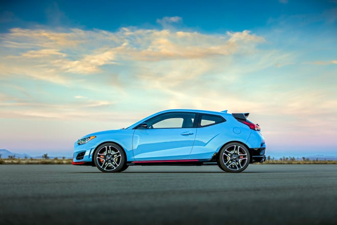 The Veloster N is an all-new, high-performance model from Hyundai for 2019.