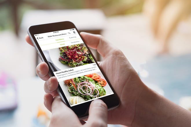 The Waitr app allows users to order food  and have it delivered to their homes.