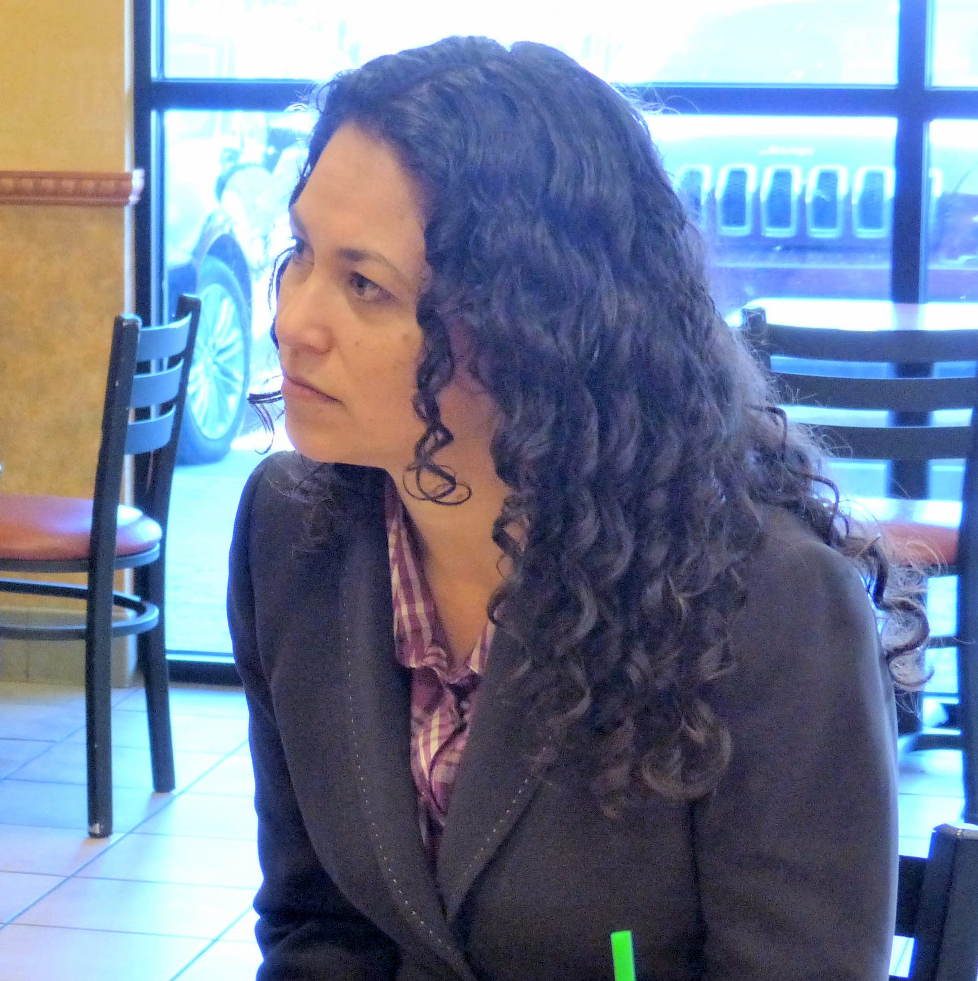 Xochitl Torres Small hears of service shortfall from Lincoln County veterans