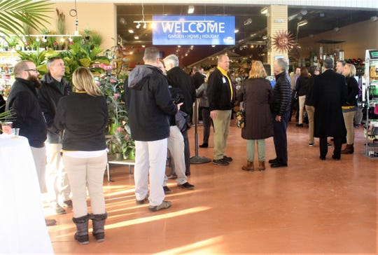 Attendees at the opening ceremony were impressed by the wide-scale selection of indoor and outdoor products.