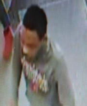 One of the suspects wanted by Westland police in connection with the theft of some liquor from area CVS pharmacies.