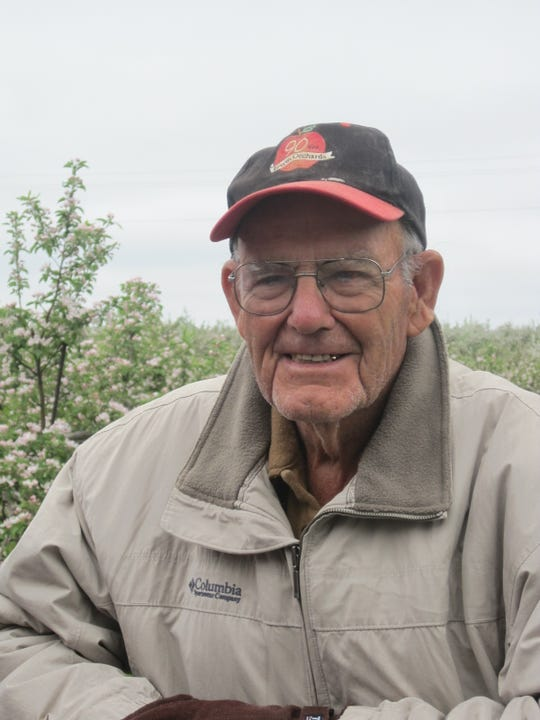Edward Erwin, founder of Erwin Orchards in Lyon Township, died Feb. 21, 2019. A funeral is planned for March 9 at New Hudson United Methodist Church.