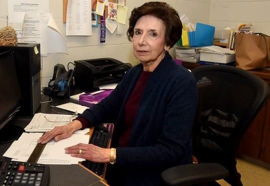 Barbara Fontenot, secretary at Opelousas Catholic, is retiring this year.