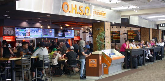 O.H.S.O. Brewery at Phoenix Sky Harbor International Airport.
