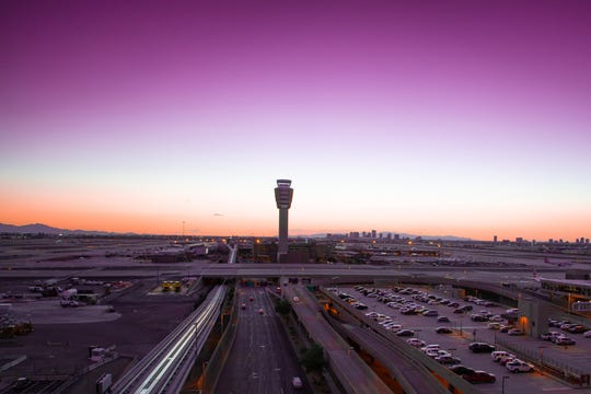 Phoenix's airport is having a busy spring.