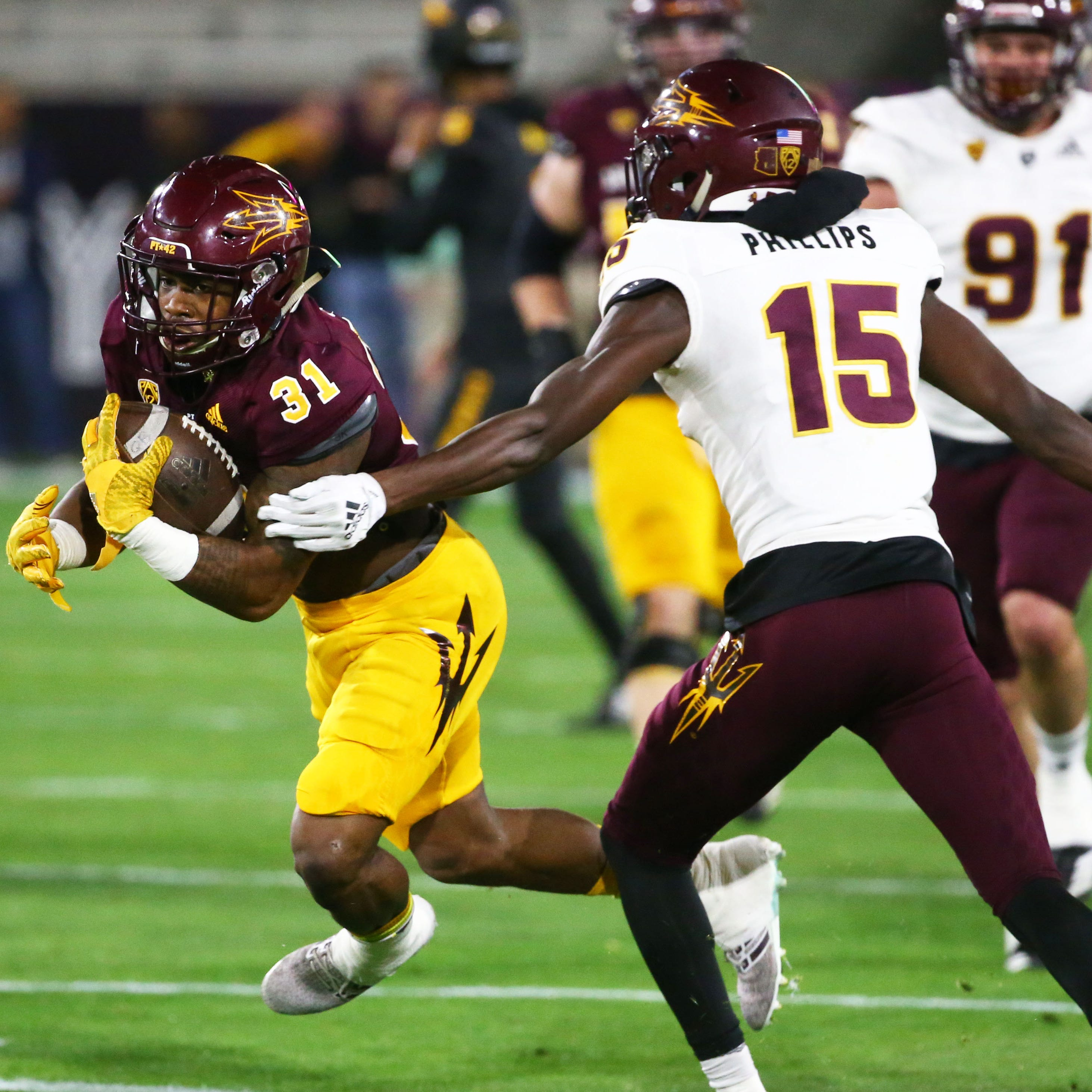 ASU football: Spring drills end with a thud as freshmen QBs get accustomed to stadium