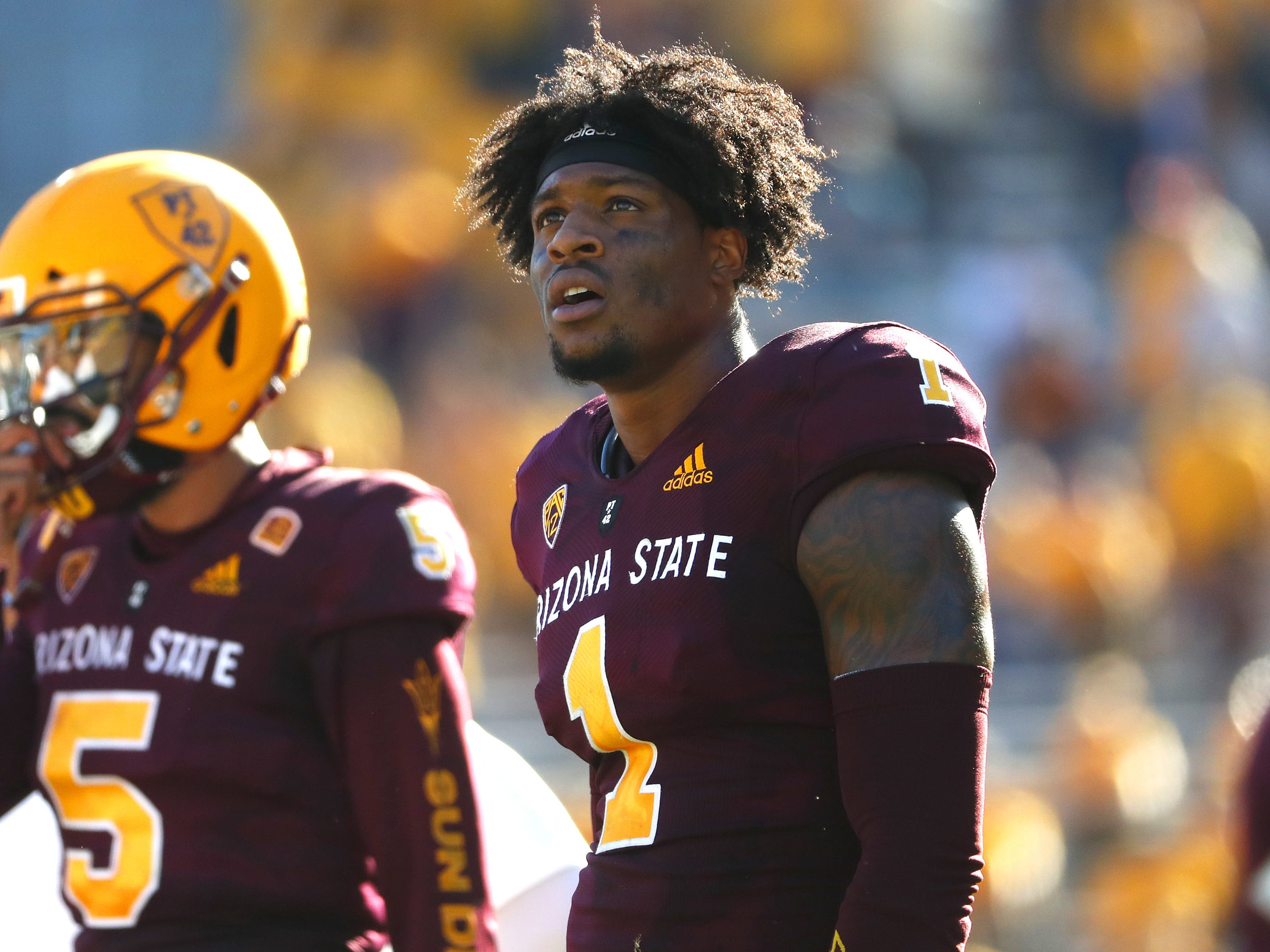 N'Keal Harry had 2,889 yards receiving with 22 touchdown receptions over three years with Arizona State.