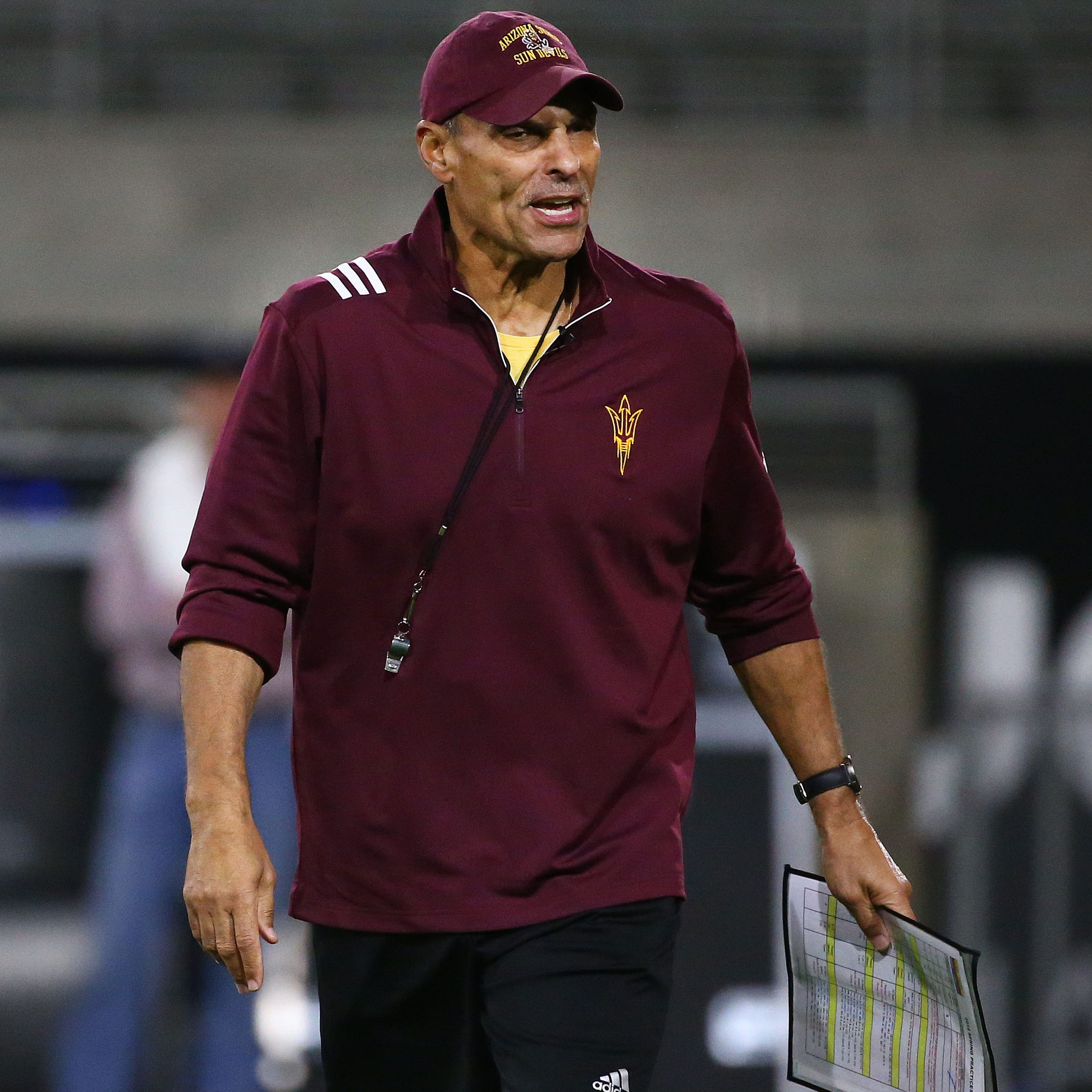 ASU football coach Herm Edwards get leg up on season with knee replacement