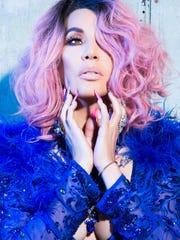 Ivy Queen, una de las pioneras del género urbano reguetón a principios de la década de 1990.