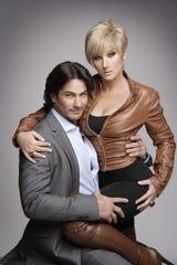 """Christian protagonizó en 2010 la telenovela """"Vidas Robadas"""", al lado de Pedro Sicard."""