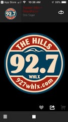The new 92.7 WHLX-FM will reach from Lakeport to just south of Marysville. It is also available through the app store.