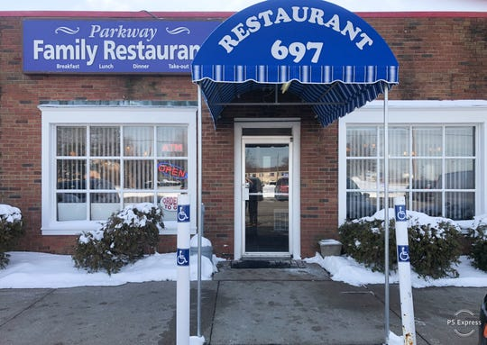 The Parkway Family Restaurant is at 697 Ling Road in Greece.
