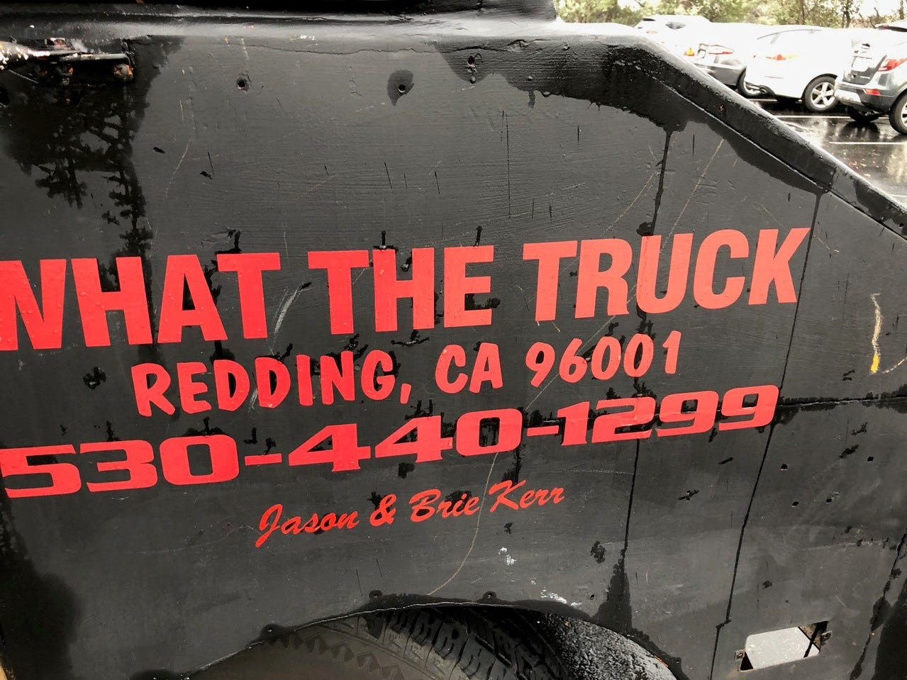 What the Truck food truck is also available for catering and private parties.