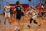 South Salem beat Mountainside girls basketball during the OSAA playoff game in Salem on Thursday, Feb. 28, 2019.