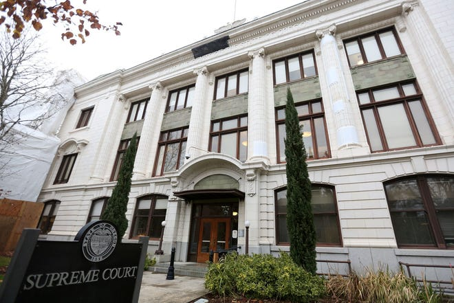 This is the Oregon State Supreme Court in Salem.