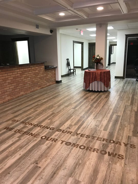 """The entrance to the Kimble County Historical Museum will welcome people on Saturday, March 23. The words """"by honoring our yesterdays, we define our tomorrows"""" will begin the journey through the old 1950s hospital-turned-museum."""