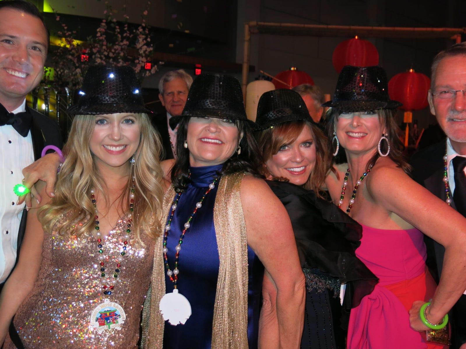 "Krewe Gemini Grand Bal ""Gemini's World Adventure"" was Feb. 16 at Shreveport Convention Center."
