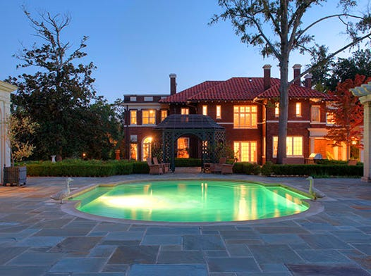 830 Ockley Drive, Shreveport  Price: $2,000,000  Details: 4 bedrooms, 5 bathrooms, 5,620 square feet  Special features: Magnificent estate built in 1922 spanning an entire block, several living quarters within the two street border, Monet style bridge with water features lining the estate, very unique property.   Contact: Lisa Hargrove, 393-1003