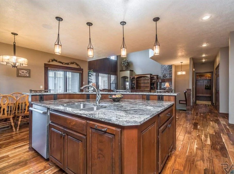 This home at 401 E. Shadow Creek Lane,in the Grand Prairie neighborhood of Sioux Falls, sold for $855,00, topping our home sales report for the week of Jan. 14.