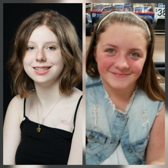Hollie Burford (left) was the recipient of Hannah Havermann's heart. Havermann died suddenly in 2017 and was able to save eight lives through organ donation.