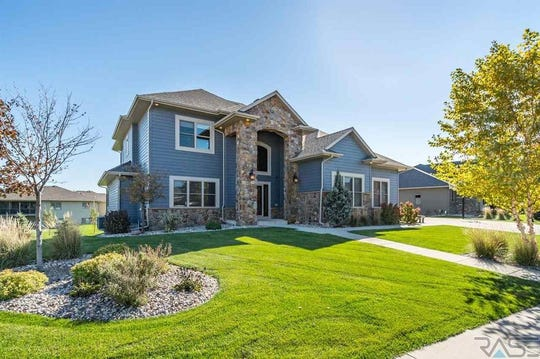This home at 401 E. Shadow Creek Lane, in the Grand Prairie neighborhood of Sioux Falls, sold for $855,00, topping our home sales report for the week of Jan. 14.
