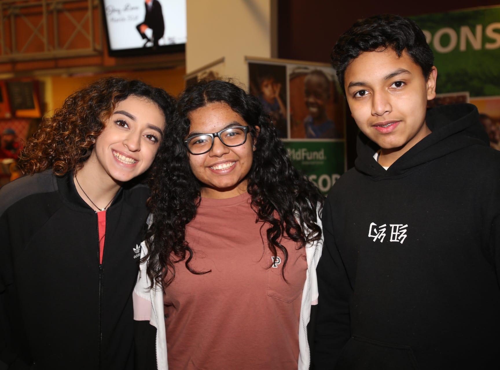 Jennifer Mercado, Yatzary and Louis Perez
