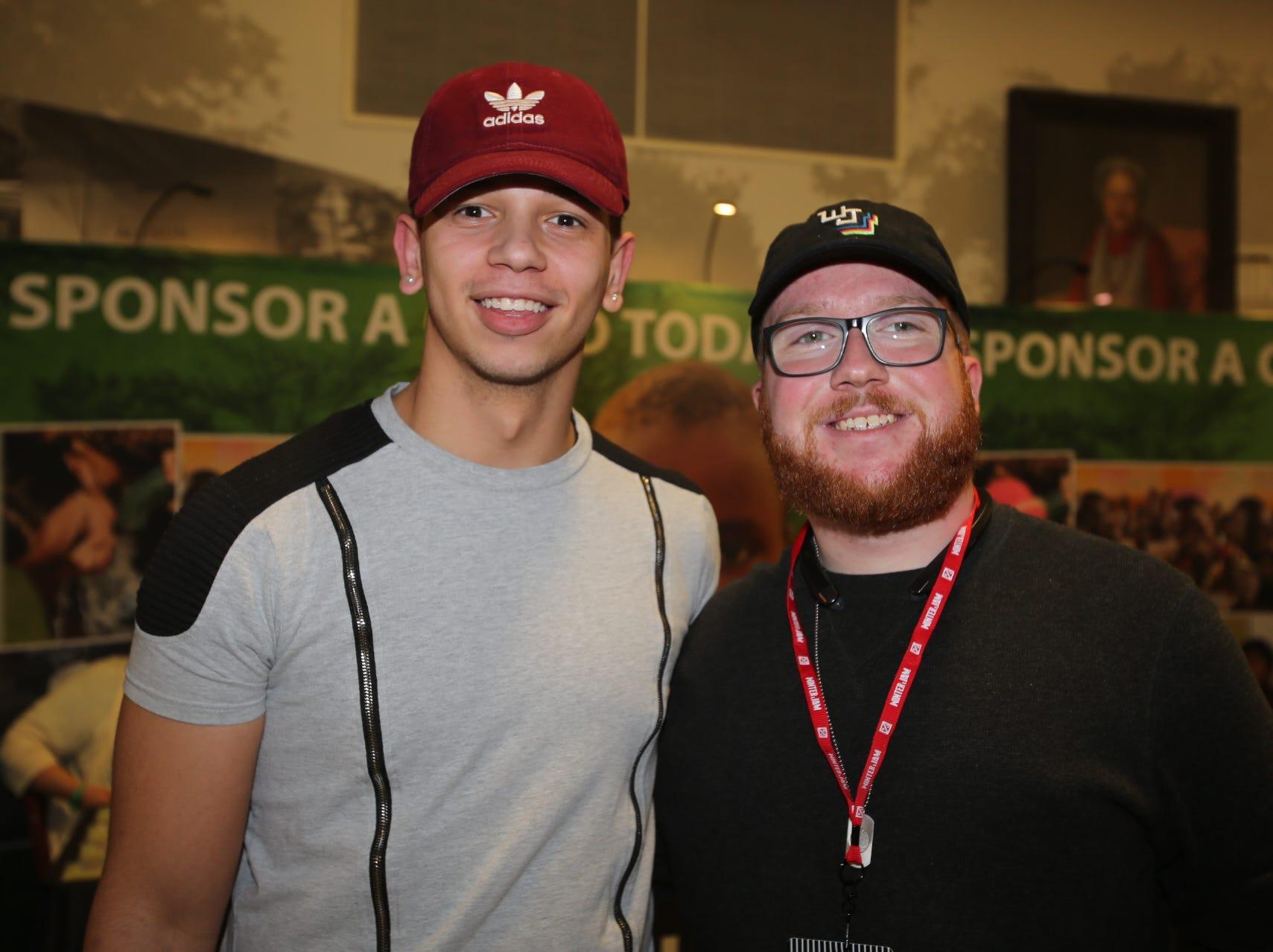 Joshua McGeough and Michael Creech