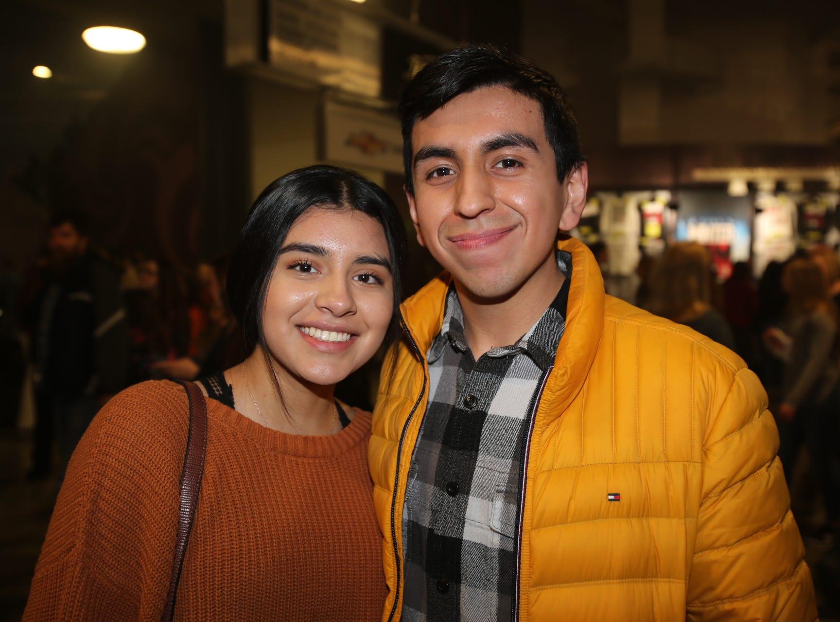Breanna Garduno and Alexis Murcado
