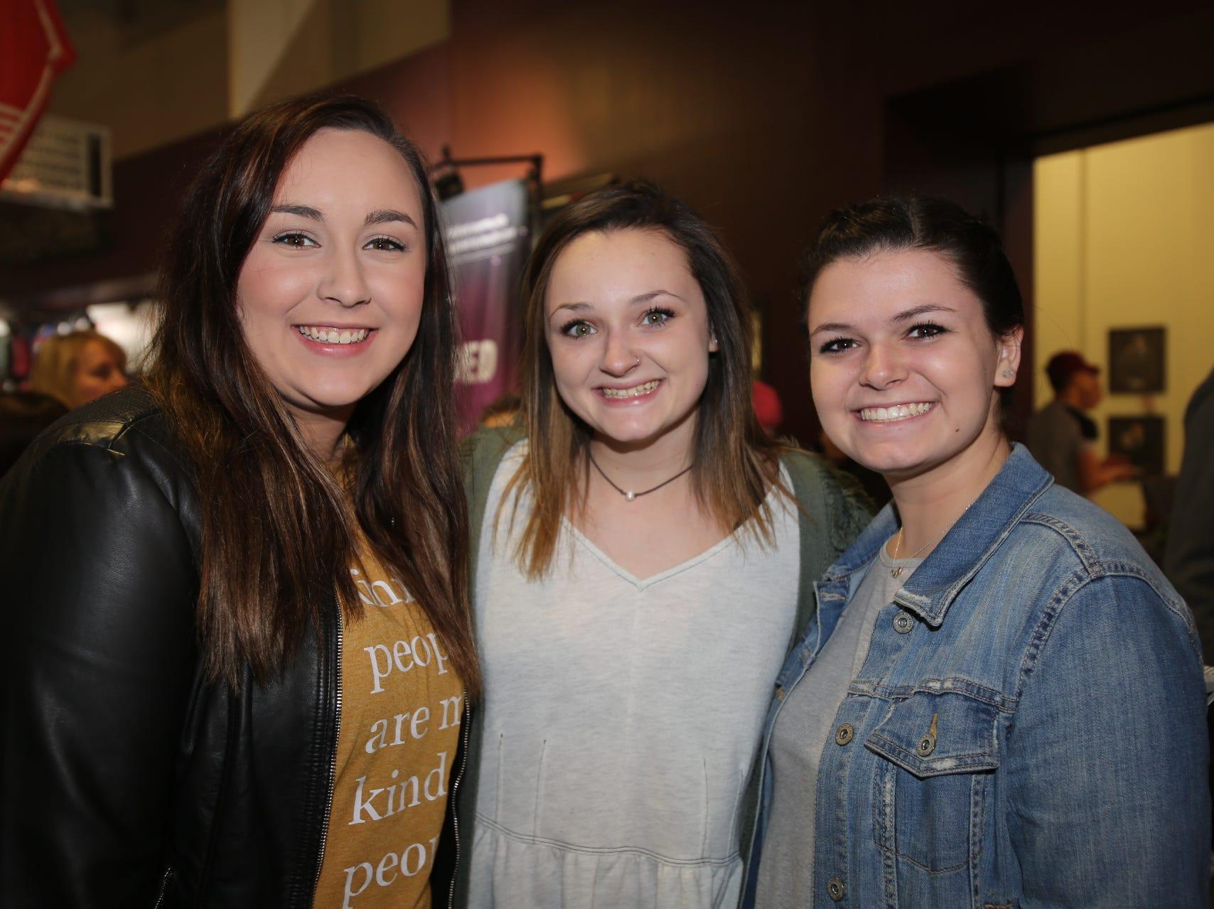 Cat Kristek, Riley, and Jennifer Kocevar