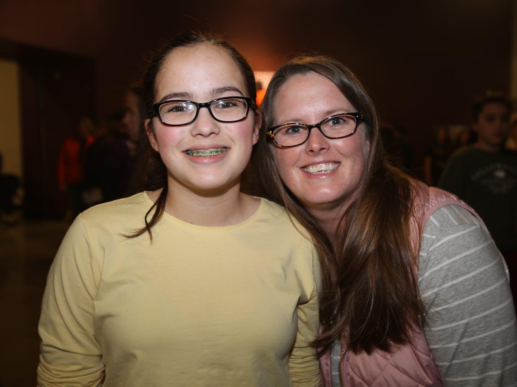 Heather and Emma Daugherty