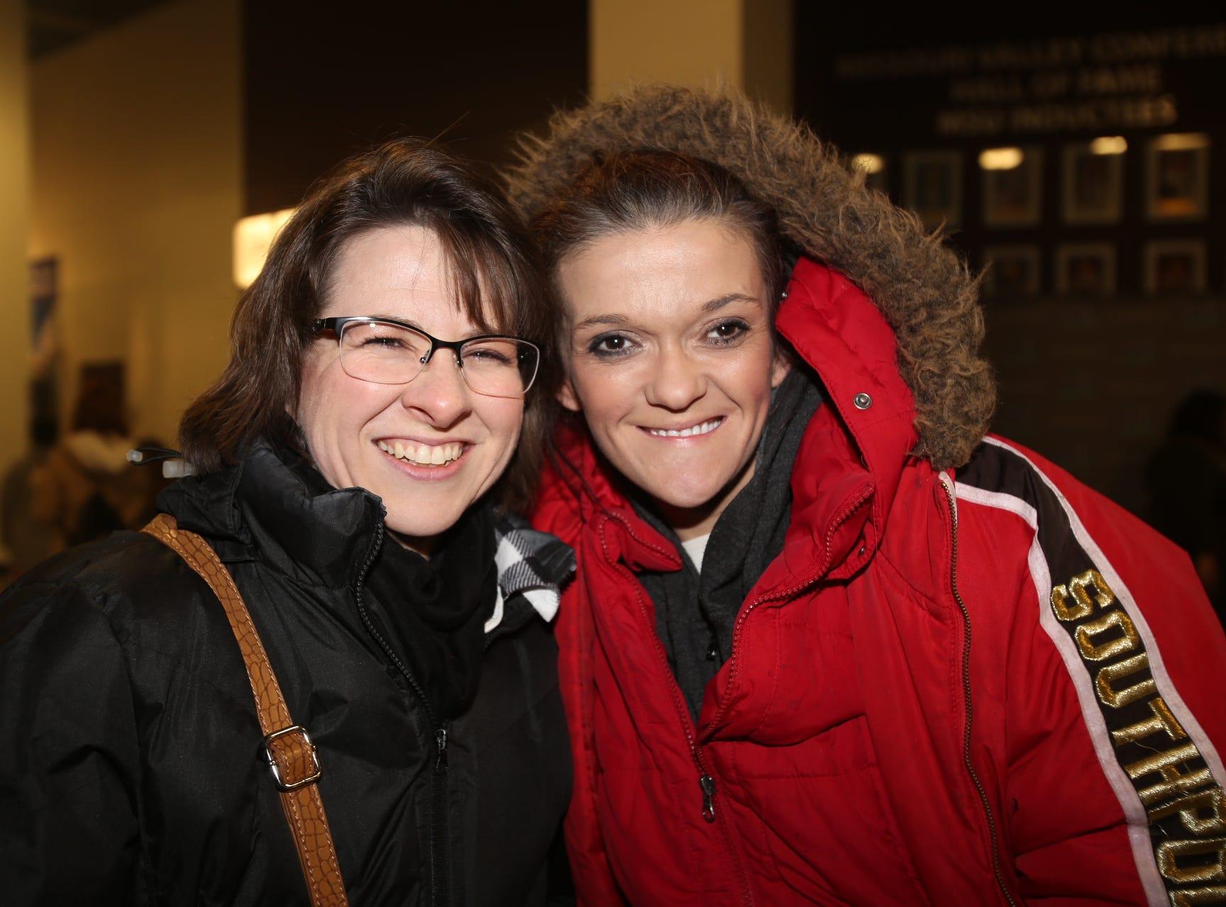 Morgan Talbet and Jennifer Anderson