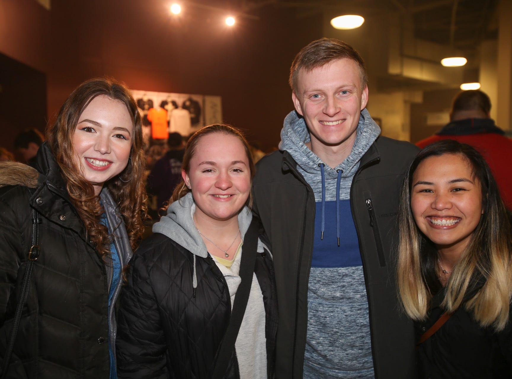 Cherie Pina, Kharli Schiffner, Blake and Esy White