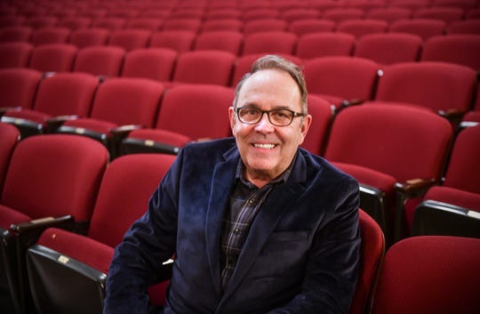 Paramount Center for the Arts Executive Director Bob Johnson is pictured Friday, March 1, in the theater in downtown St. Cloud.