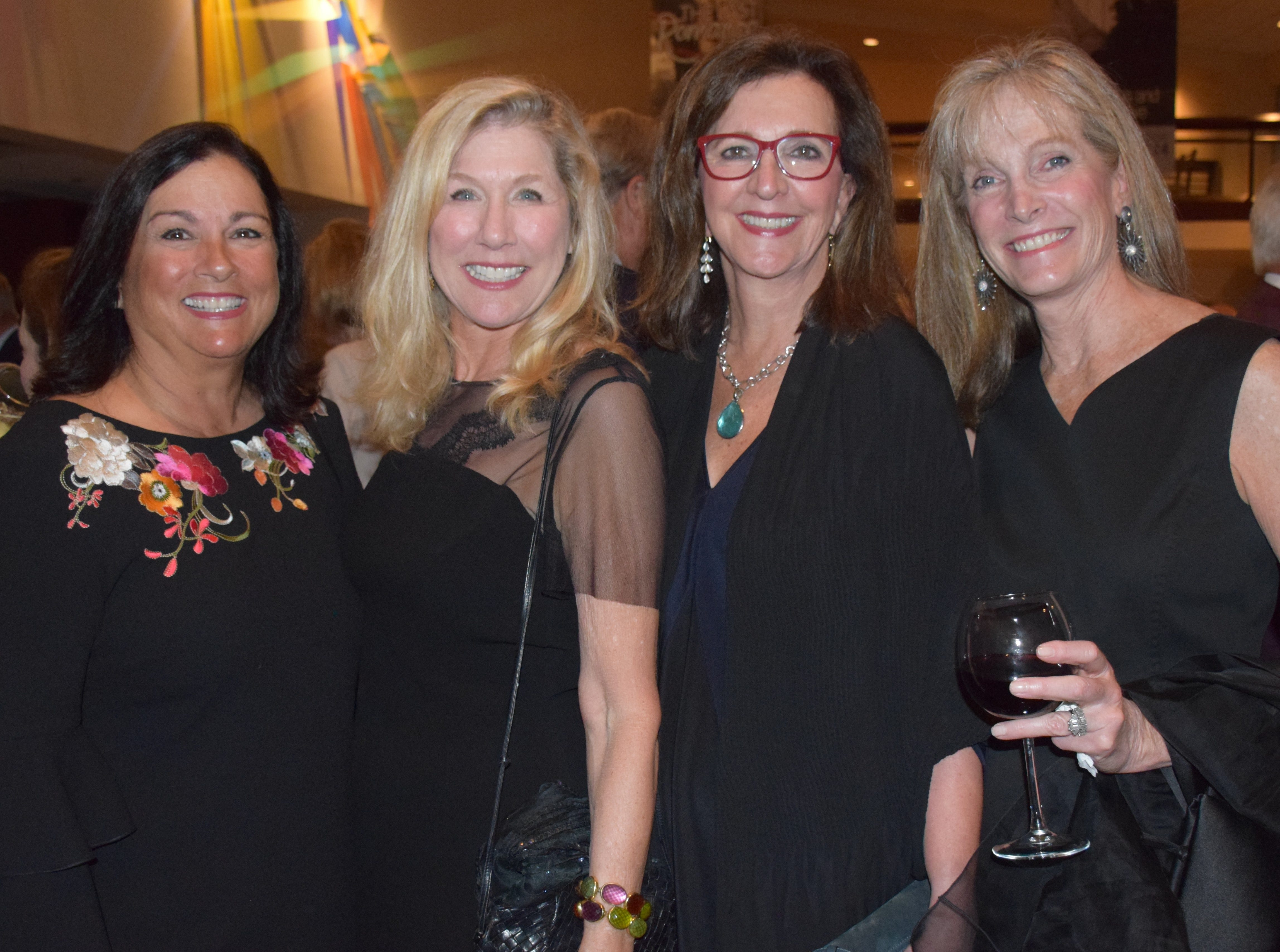 Geri Altieri, Sherrie Petermann, Linda Zecher, and Mary Ann Davis