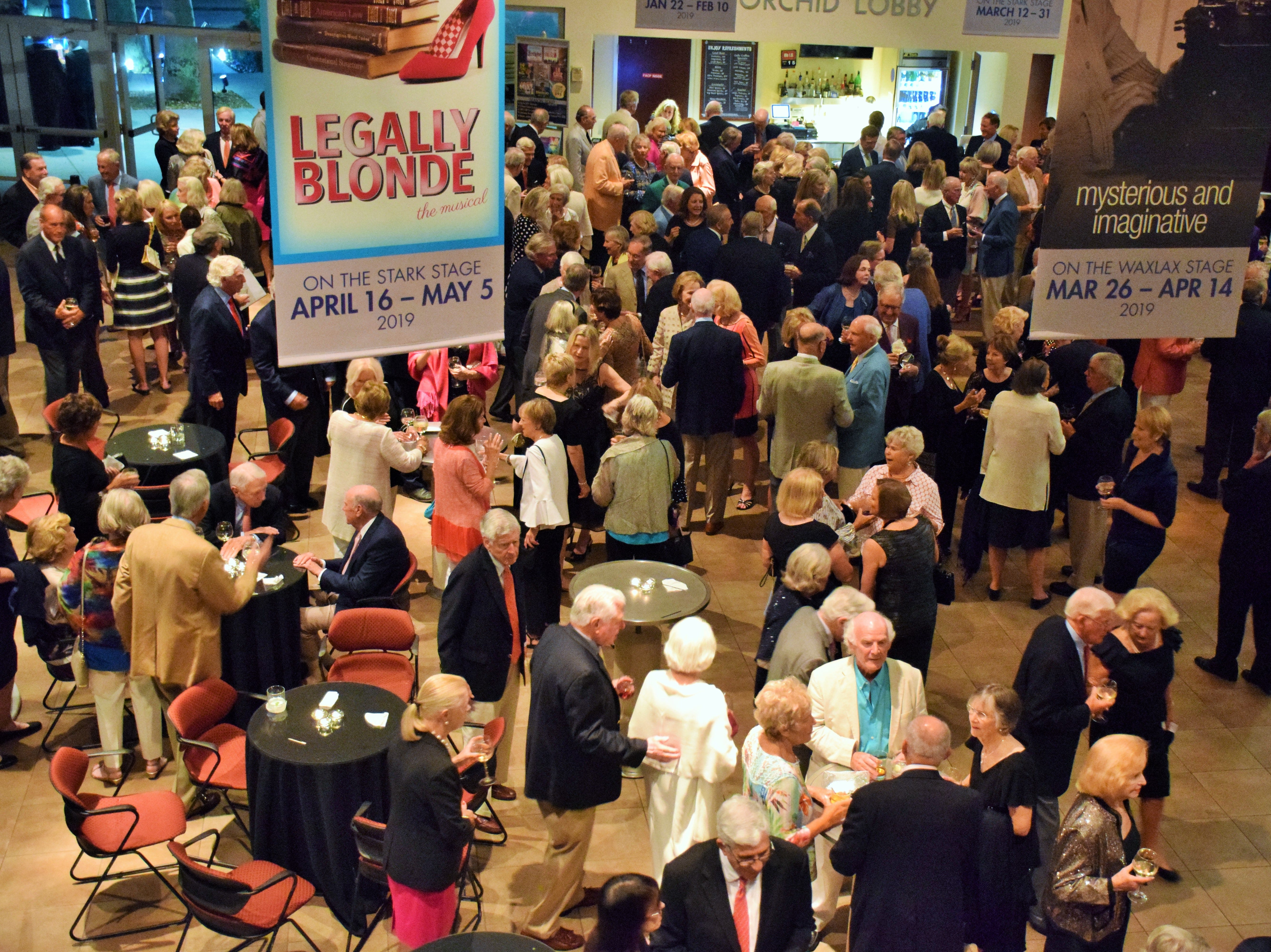More than 250 guests attended the Riverside Theatre fundraiser.