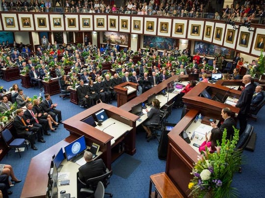 Florida legislators convened the 2019 session March 5.