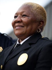 Fort Pierce police Chief Diane Hobley-Burney