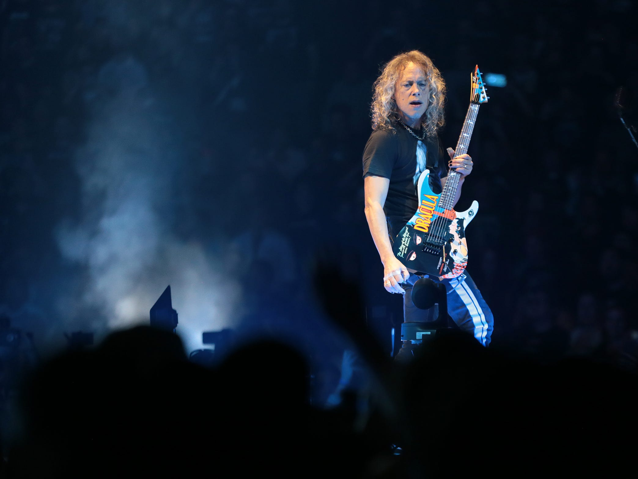 Metallica played to a sold out Don Haskins Center Thursday night. The long-time metal band brought their long-awaited show to El Paso along with comedian Jim Breuer to warm up the crowd.