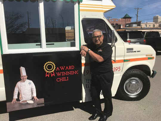 Thomas Cavazos, who is launching a chili food truck, is a member of the Pod of the Pass chili organization in El Paso.