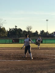 Tulare Union softball player Mia Reynolds was voted by readers as the Times-Delta prep athlete of the week.